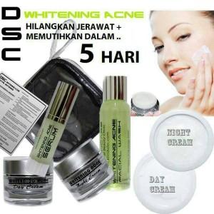 DSC whiteting acne