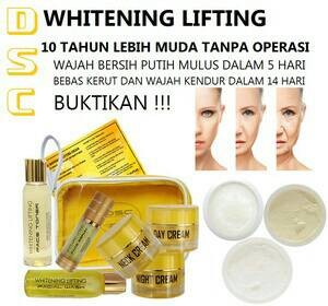 DSC whitening lifting