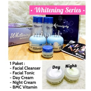 [ Normal ] Beautysky Whitening series / BMC Magic Cream BPOM original
