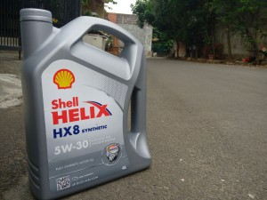 SHELL HELIX HX 8 SYNTHETIC 4L