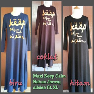 MAXI DRESS KEEP CALM