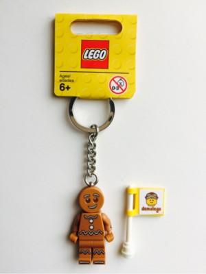 Lego Original Keychain Gingerbread Man Minifigure Series