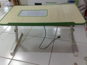 harga Meja Komputer Portable Kayu Kuat Tokopedia.com