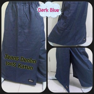Rok Celana Denim (ukuran XL)