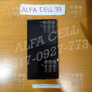 Lcd + Touchscreen + Frame Sony Xperia Z Ultra C6802 / C6833 Fullset