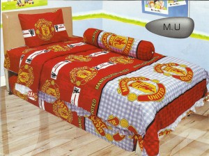 Sprei Lady Rose 120 DISPERSE Murah Manchester United MU