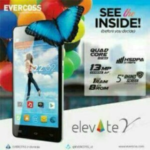 Evercoss A66A / Elevate Y Resmi!!!
