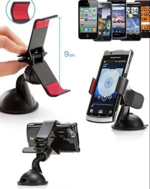 Lazypod Mobil Meja Car Suction Mount Holder Clip Universal Smartphone