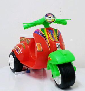 Kado motor vespa merah kuning putih hijau biru stang kombinasi (VESPA)