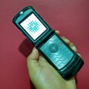 harga Motorola RAZR V3i Black Hitam Tokopedia.com