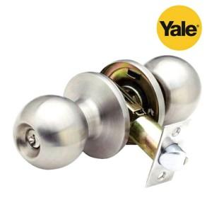 Yale Knob Set Kunci Pintu Kamar Mandi Dan Ruang Kerja VCA 5127 US 32 D