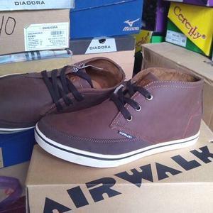 Sepatu casual - AIRWALK FINN DarkBrown Original