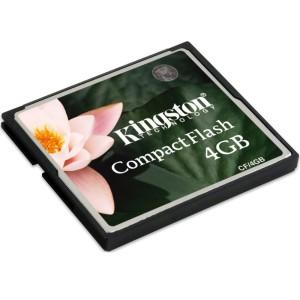 harga Kingston Compact Flash Memory Card Standard 4GB - CF/4GB - Black Tokopedia.com