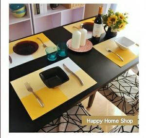 Alas Makan / Alas Piring / Table Mat PVC Anti slip Kuning
