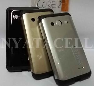 harga Spigen KickStand Armor Samsung Galaxy Core 2 Hardcase/Hard Case Tokopedia.com