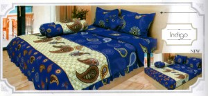 Bedcover Lady Rose Disperse 180 – Indigo