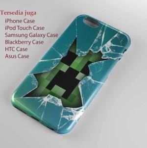 Minecraft Creeper S2,hard case,  Iphone case,smua hp