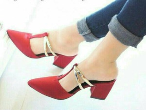 rs selop heels sepatu wanita murah