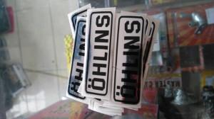 harga stiker ohlins chrome Tokopedia.com