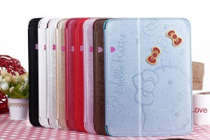 harga Fashion Hello Kitty iPad 2 3 4 Book Cover Stand case Auto-lock Tokopedia.com