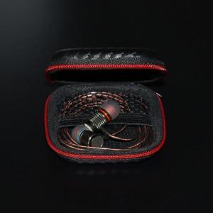 Casing Earphone Knowledge Zenith Leather Case Bag (Tas/Dompet)