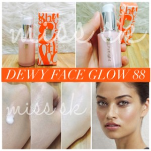 Eity Eight Dewy Face Glow Original 100% / ver 88 bounce up pact series