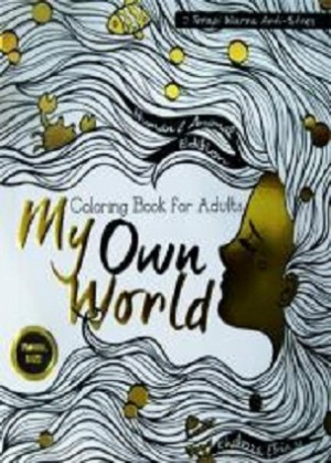 Coloring Book For Adults My Own World 1 40Travel