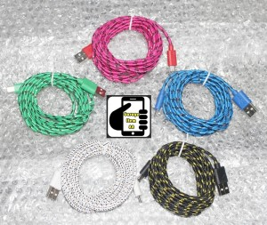 Kabel Data 3 Meter Tali Setrika Micro USB SAMSUNG BB ANDROID MURAH