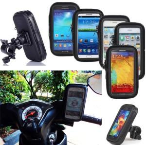Holder handphone motor anti air (waterproof) / Holder bag sepeda