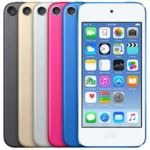 IPOD TOUCH 6th 32GB BLK/SIL/GOLD/PINK/BLUE GRS RESMI