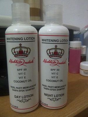 Jual Memutihkan Kulit Tubuh Lotion Whitening Mahkota Indah Bogor Rika Salon Tokopedia