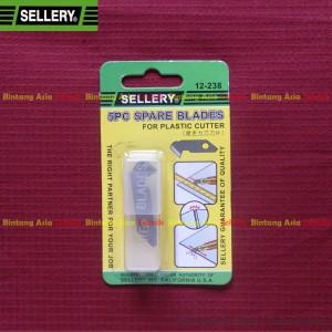 harga Refill Pisau Potong Acrylic / Akrilik / Plastic Cutter SELLERY 5 Pcs Tokopedia.com