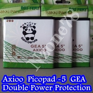 BATERAI AXIOO PICOPAD 5 GEA RAKKIPANDA DOUBLE POWER PROTECTION