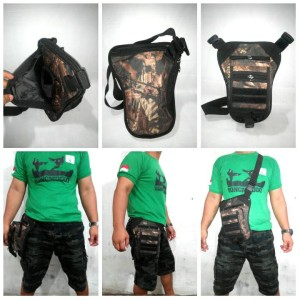 harga tas pistol/tas selempang camo/ tas airsoftgun/tas holster Tokopedia.com