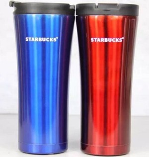 harga Starbucks Tumbler / Mug - 2016 COUPLE Edition - Blue & Red Tokopedia.com