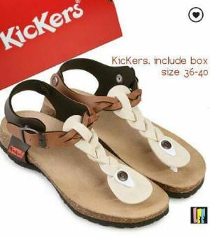 sandal sepatu kickers wanita murah grade ori box
