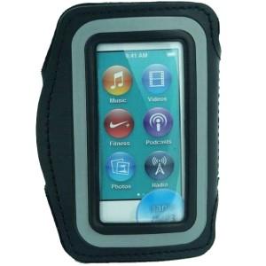 harga Sports Armband  iPod Nano 7th Neoprene Material  - Black Tokopedia.com