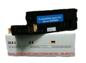Toner Cartridge Laserjet compatible Xerox CP105b/CP205/CM215W MAGENTA