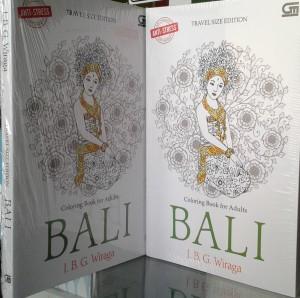 ANTI STRESS MEWARNAI UNTUK DEWASA COLORING BOOK FOR ADULTS BALI