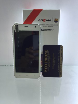 Advan Vandroid S50D / 5 inc / Ram 1GB / Kitkat / QuadCore 1.2ghz
