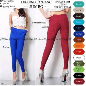 Grosir Legging Semi Jeans XXL  Murah - Supplier Baju Tanah Abang