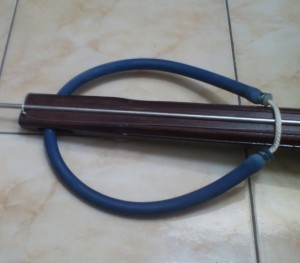 Rubber band karet speargun 50cm 14mm siap pakai