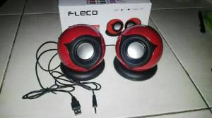 harga speaker aktif usb fleco F-009 Tokopedia.com