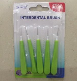 Interdental Brush Dr. Smith isi 5, sikat gigi untuk sela behel