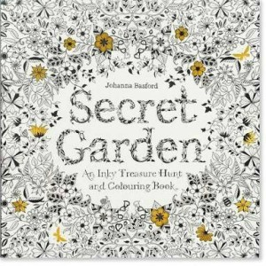 Buku Mewarnai Coloring Book For Adults Secret Garden