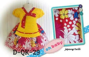 DRESS HANBOK KOREA KIDS BAJU ANAK KATUN JEPANG OHBABY QK 29