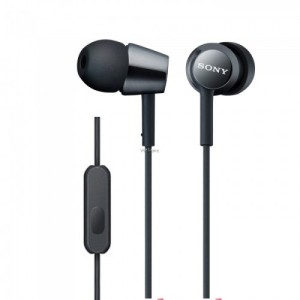 harga Sony In-Ear Monitor Headphone MDR-EX150AP-Black Tokopedia.com
