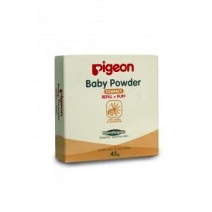 harga PIGEON Baby Powder Refill 45gr / Bedak Padat Bayi 45gr Tokopedia.com