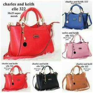 tas wanita/tas kerja/tas cewek charles and keith 322 super