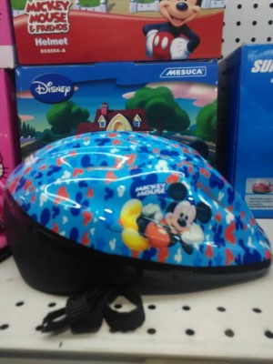 Helm Sepeda Anak Mickey Mouse